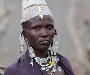 Masai, to the market,  Lake Natron | Tanzania